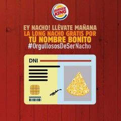 Burger King regala hamburguesas a los Ignacios
