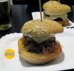 mini-hamburguesa pequeña europa