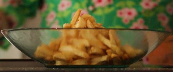 Cocina en casa: patatas fritas crujientes