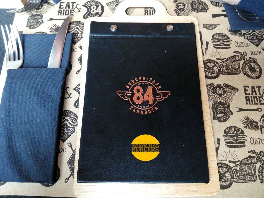 84 burger café carta