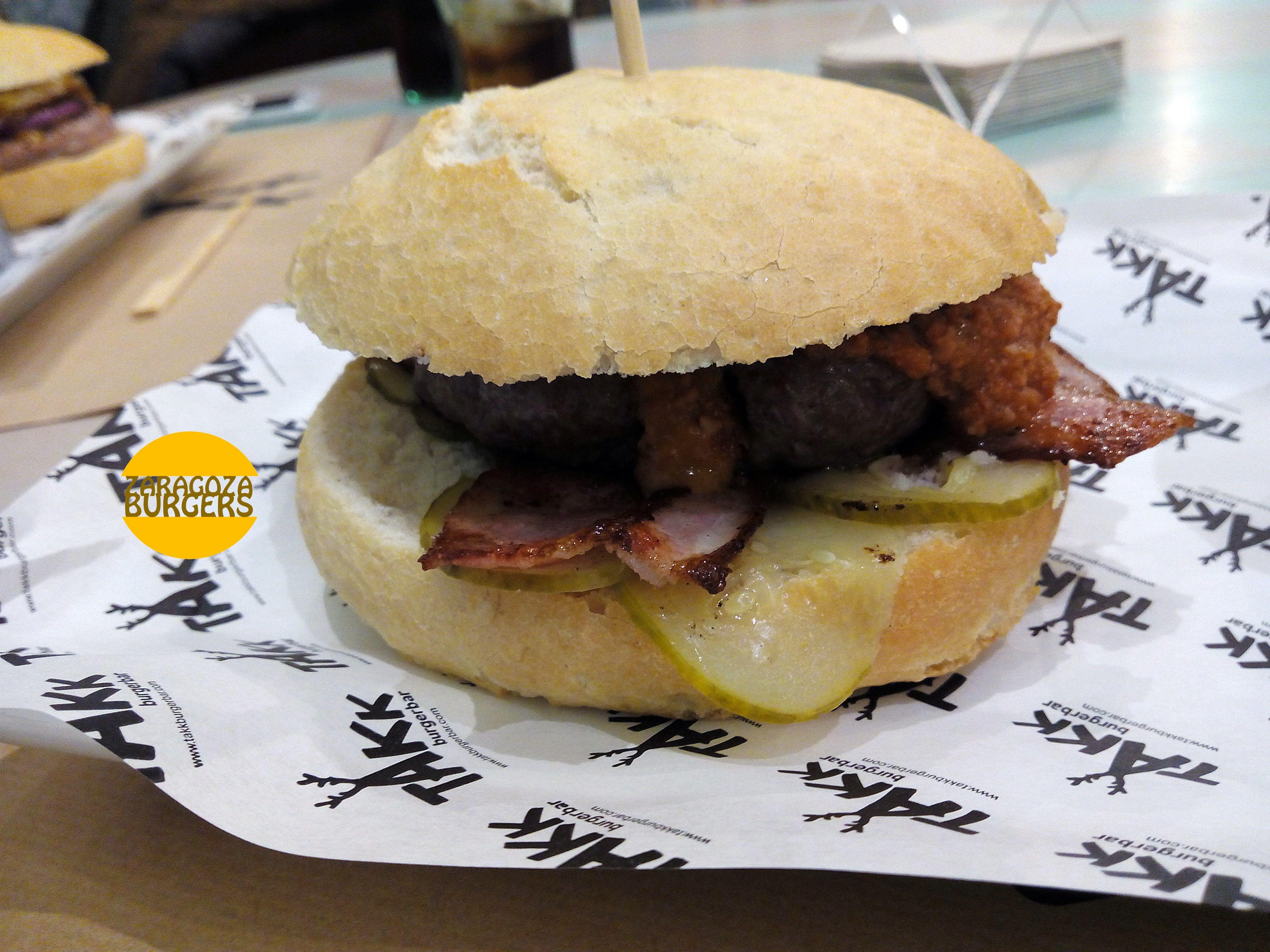 hamburguesa takk burgerbar