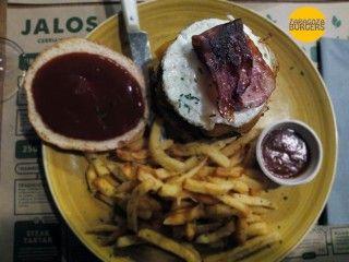 hamburguesa americana Jalos