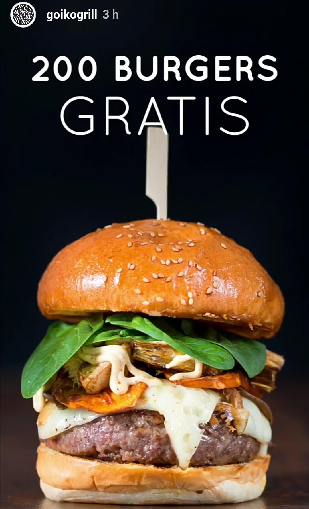 Goiko grill regala 200 hamburguesas con motivo de su for Apertura piscinas zaragoza 2017
