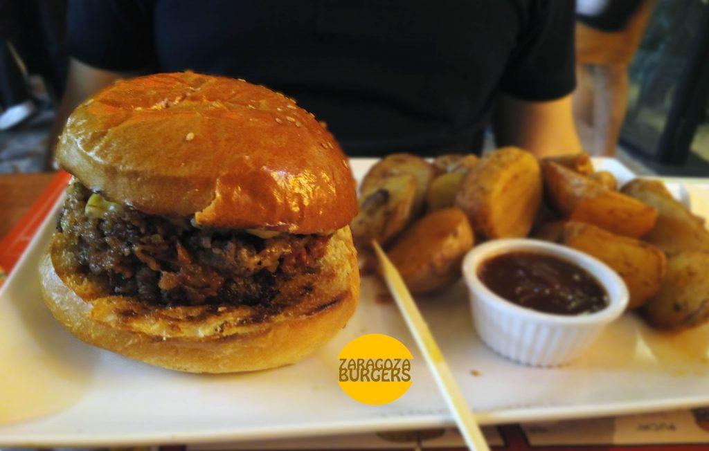 hamburguesa Kevin Bacon Goiko Grill Zaragoza